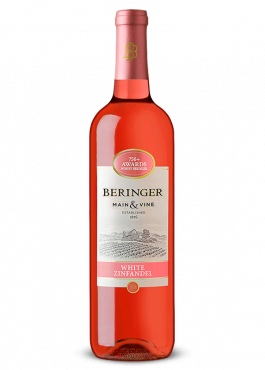 Vino californiano beringer main and vine white zinfandel
